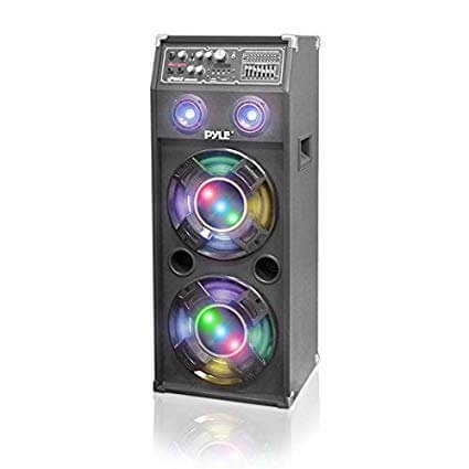 Loud speaker with lights
