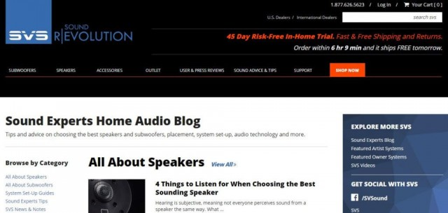 The Top 30 Audiophile Blogs - Noisylabs -