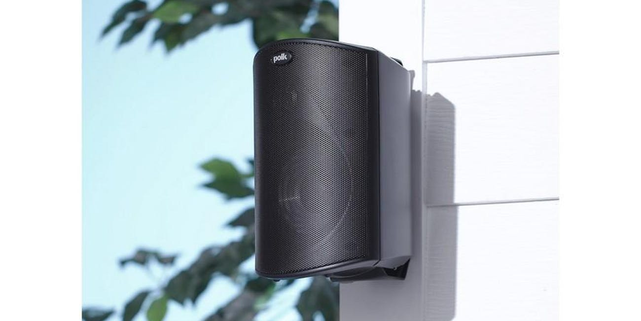 maintain your outdoor speakers