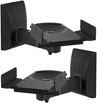 Mount-It! Bookshelf-Speaker Wall Mounts -